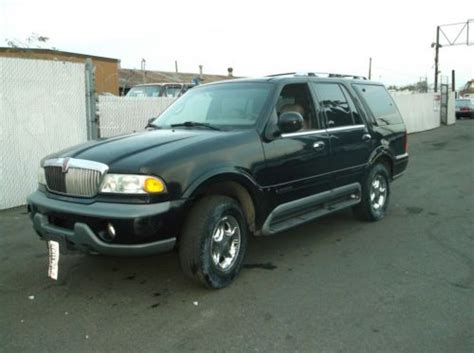automotive air conditioning repair 1999 lincoln navigator lane departure warning find used 1999 lincoln navigator no reserve in orange california united states