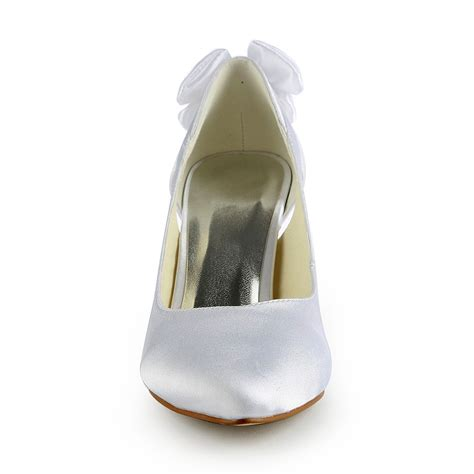 Satin Pumps Wedding by Satin Stiletto Heel Pumps With Hollow Out Wedding Shoes