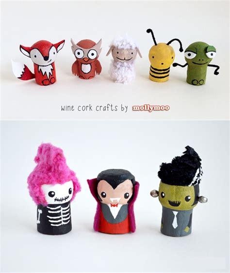 Simple Halloween Craft - manualidades para ni 241 os con corcho decopeques