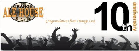 Orange Ale House Bar Grille 187 Orange Live