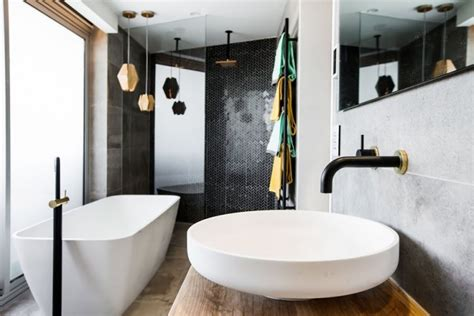 Bathtub Block by The Block 2015 Week 1 Bathroom Reveals