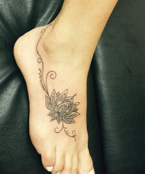 lotus flower foot tattoo designs best 25 lotus foot ideas on tatoo