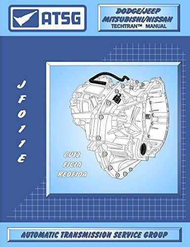 Shop Manual Rogue Service Repair atsg jatco jf011e cvt automatic transmission repair manual import it all