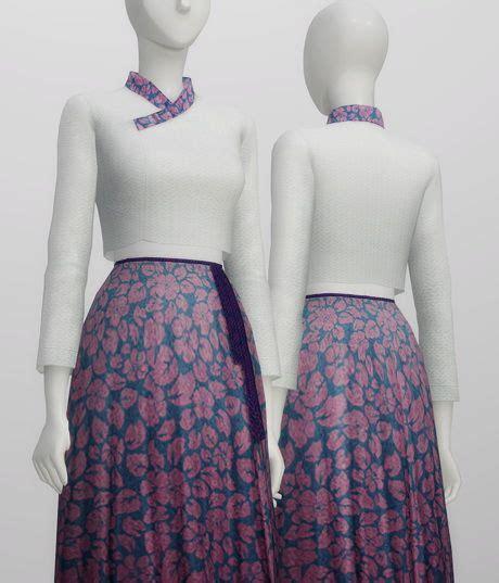 Hanbok Korea Trendy trendy hanbok 10 colors at nail sims 4 mods