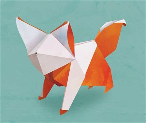 Origami Fox Advanced - 36 best origami fox images on foxes origami
