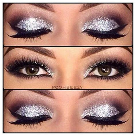 Sparkly Look It Or It by 14 Amazing Glittery Eye Makeup Looks Pretty Designs