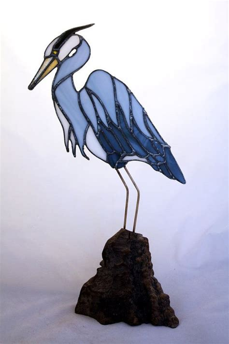 stained glass pattern blue heron 1000 images about stained glass ocean seaside water on