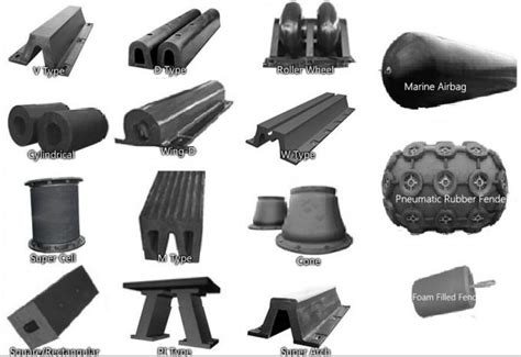boat sts rubber french warships rubber elements marine rubber fender for