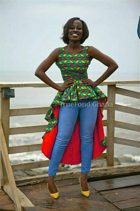 Dam On Pinterest African Fashion Ankara And Peplum Dresses | ankara top ankara blouses ankara flare peplum top