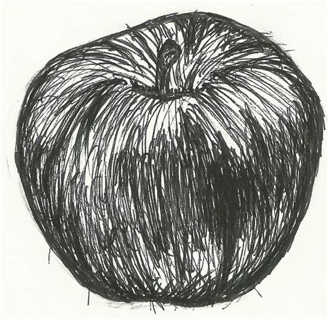 2 Pen Drawing By Bharoro by Apple Pen Drawing By Emilybamforth On Deviantart