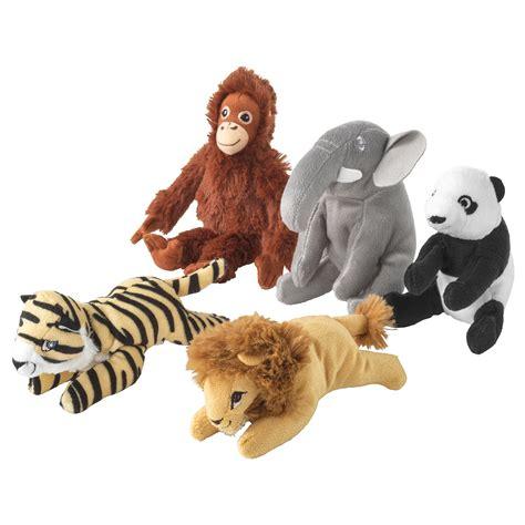 djungelskog soft toy assorted designs ikea