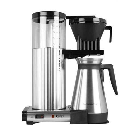 Technivorm Moccamaster CDGT   Polished Silver   Thermal Carafe   Seattle Coffee Gear