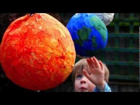 como hacer un sol de unicel manualidades con ni 241 os c 243 mo hacer el sistema solar con