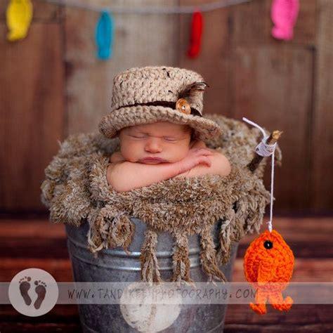 Baby Fishing popular baby fishing hat fish set newborn 0 3m crochet