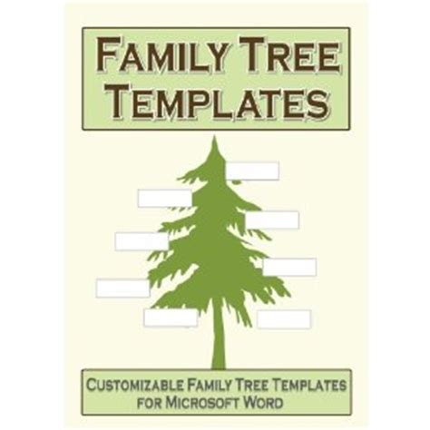 microsoft word family tree template microsoft word geneology template