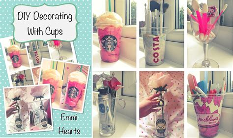 Diy For Room Decor Starbucks Cup Diy Gift Newhairstylesformen2014