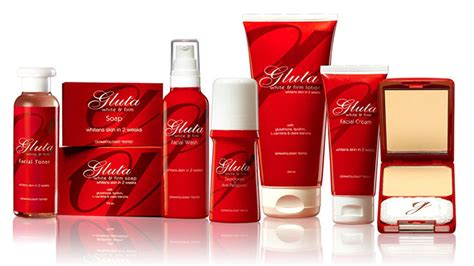 Gluta White By Lovable celebrate whiter and firmer skin this month