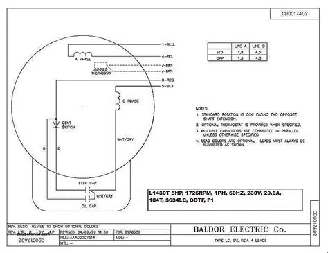 baldor 215t motor single phase compressor wiring diagram