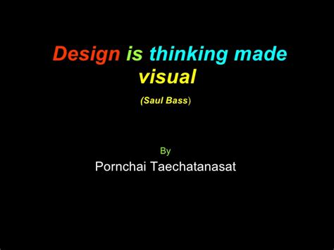 design is thinking made visual meaning design is thinking made visual
