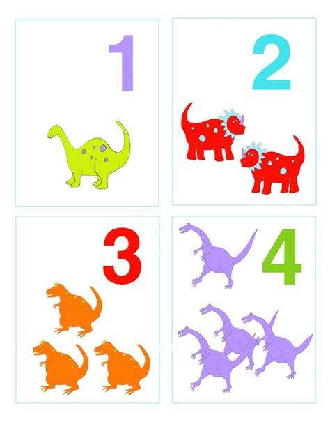 free printable animal numbers 8 best flash card ideas images on pinterest learning