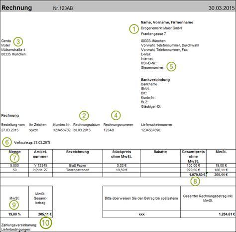 Muster Rechnungsberichtigung E Book Zur Vorsteuererstattung