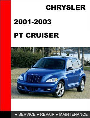 online car repair manuals free 2001 chrysler pt cruiser head up display pt cruiser 2001 2002 2003 service repair manual download manuals
