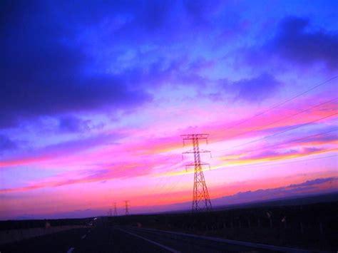 imagenes de paisajes violetas cielo azul violeta cuchuma net