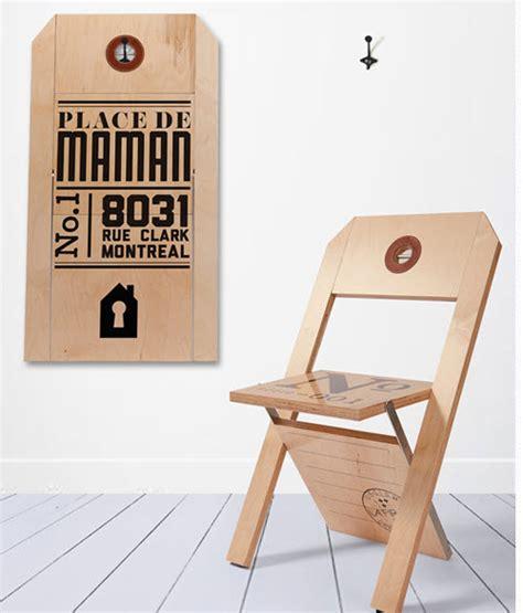 sillas plegables modernas dise 241 o de muebles creativos modelos para dise 241 o de