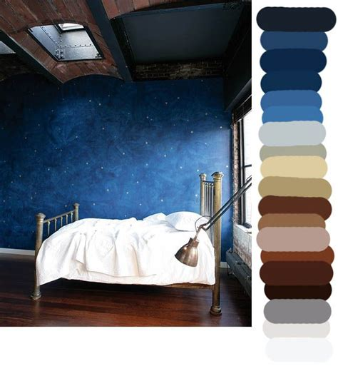 starry night bedroom starry nights in the brass bed arts color palettes