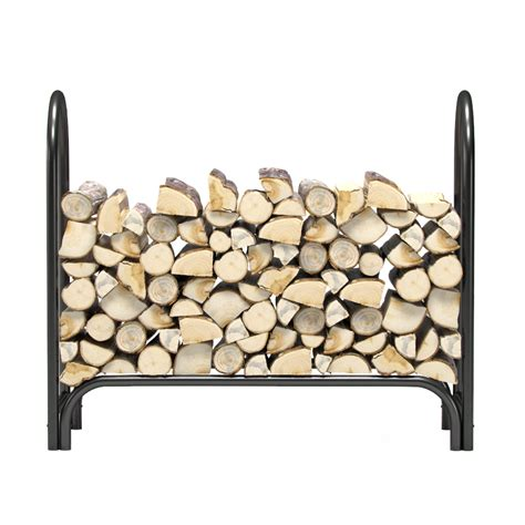 firewood holder 4 foot heavy duty firewood log rack outdoor firewood