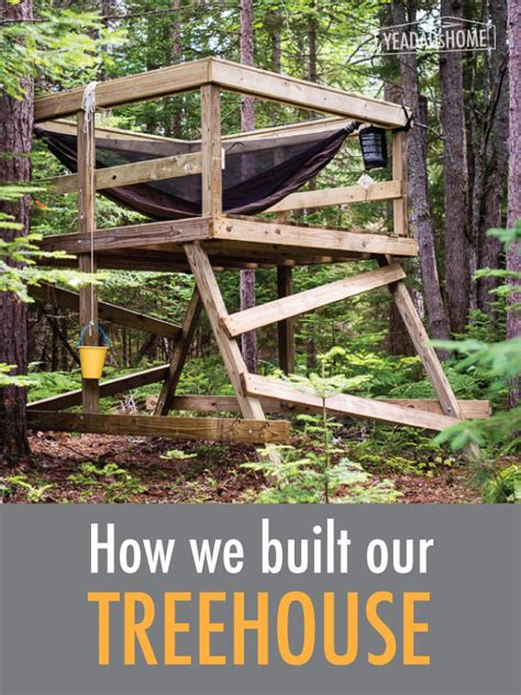 team tree house how we built our treehouse yeadadshome com