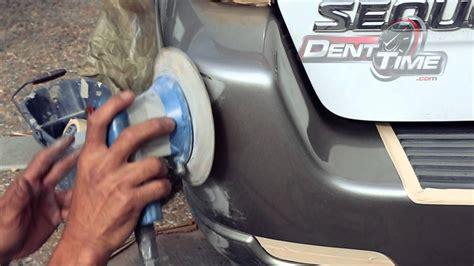 auto car bumper scratch repair san diego dent time