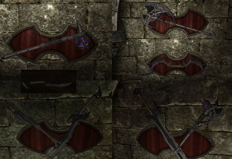 skyrim daedric armor and weapons daedric armor and weapons glow replacer at skyrim nexus