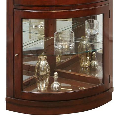 corner curio cabinet amazon amazon com pulaski corner curio 34 by 23 by 78 inch