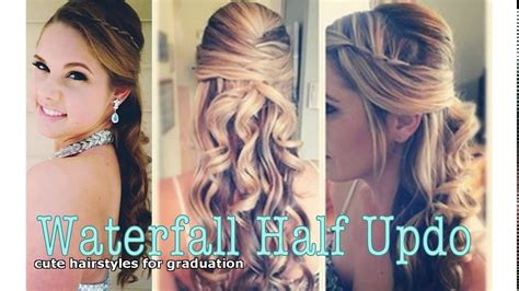 hairstyles grade 8 graduation pictures cute hairstyles for graduation youtube