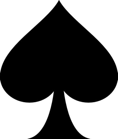 black spade clip art at clker com vector clip art online