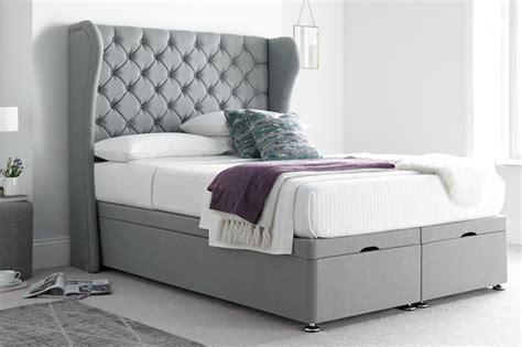 richmond bedding richmond winged divan ottoman bed beds on legs