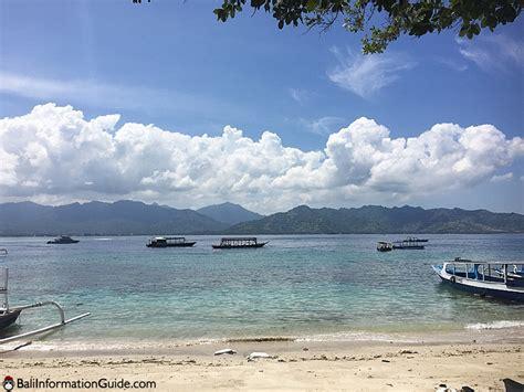 Air Bali gili air bali information guide