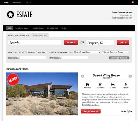 estateagent free wordpress theme top wordpress themes for real estate agents the design work