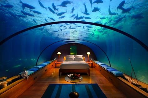 underwater bedroom in maldives luxury photos and articles stylelist