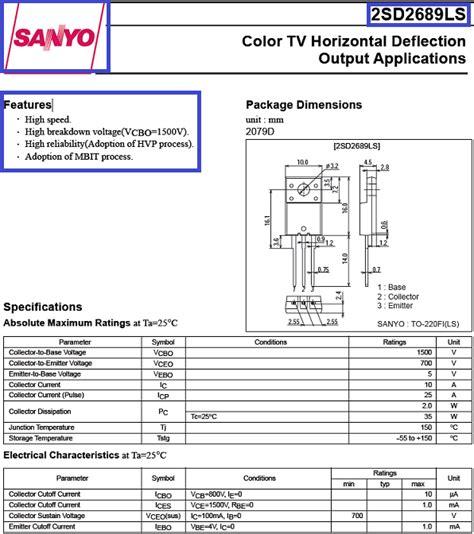 transistor c6090 sustituto solucionado lg 21fu4rlg se quema el transistor de salida horizontal yoreparo