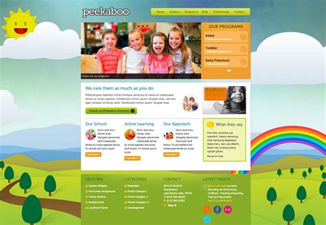 wordpress themes children s book 20 kid s wordpress themes webdesigner depot