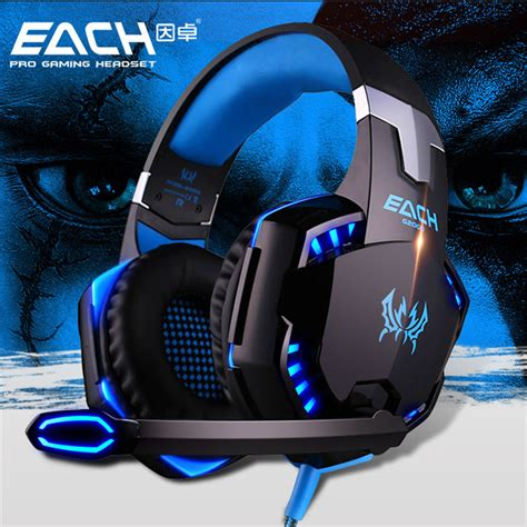 Kotion Headset Gaming Each Gs200 With Led Gamers Headphone Ktn Gs200 buy wholesale gaming headset from china gaming