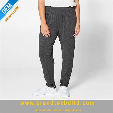 Joger Softjeans soft knit jogger charcoal brandtex