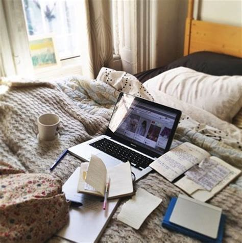 studying in bed study in bed image 3742501 by patrisha on favim com