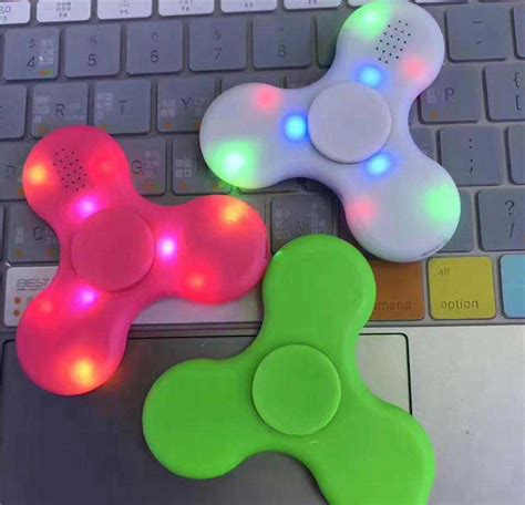 Spiner Led Fidget Spinner Led fidget spinner canada with led bluetooth speaker