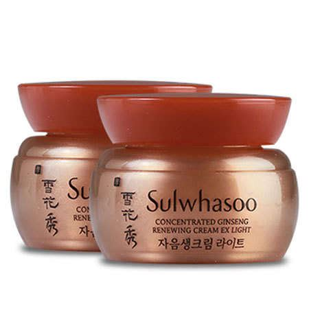 Sulwhasoo Ginseng Ex sulwhasoo concentrated ginseng renewing ex light