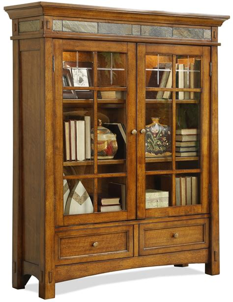 wood framed glass cabinet doors corner brown wooden display cabinet with framed glass