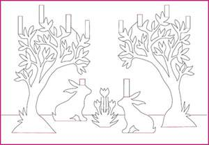 flower pop up card templates a wonderful free bunny pop up card template