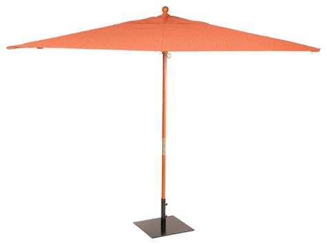Rectangular Sunbrella Patio Umbrellas 10 Ft Rectangular Sunbrella Market Umbrella Transitional Outdoor Umbrellas By Oxford Garden